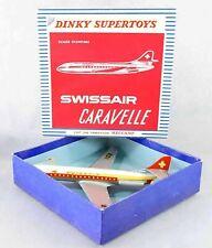 DINKY TOYS   CARAVELLE SWISSAIR   / jouet ancien