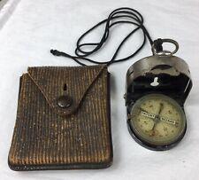 WW1, German Army Bezard Field Compass / Kompass and Pouch, Militaria, Lufft