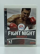 Fight Night Round 3 (Sony PlayStation 3, 2006) Complete PS3 Game CIB