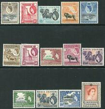 K.U.T-1954-59 Set to £1 Sg 167-180 MOUNTED MINT V33071