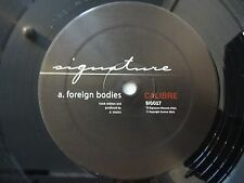 """Calibre – Foreign Bodies / Ugly Duckling - 12"""" Vinyl - Signature Records SIG017"""