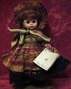 "MADAME ALEXANDER 8"" JO--LITTLE WOMEN DOLL 33385"