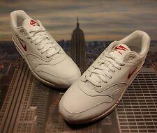 Nike Air Max 1 Premium SC Jewel Ruby White/University Red Size 12.5 918354 104
