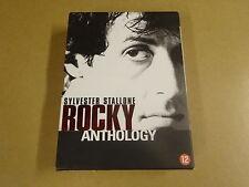 6-DISC DVD BOX / ROCKY ANTHOLOGY - ROCKY I, II, III, IV, V ( SYLVESTER STALLONE)