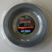 Yonex Tennis String Poly Tour Drive 125, PTD 125-2, 1.25 mm/16L GA 200m, Silver