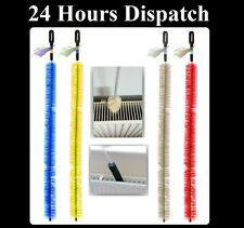 Long Reach Flexible Radiator Heater Cleaner Brush Duster Bristle Hand 70cm Long