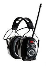 3M Bluetooth WorkTunes AM FM MP3 Radio Headphones - Wireless Hearing Protector