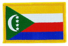 FLAG PATCH PATCHES COMOROS COMORIAN IRON ON COUNTRY EMBROIDERED WORLD FLAG