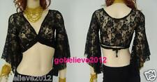 Brand New Belly Dance Sexy Lace Top 11 Colors Available Free Shipping