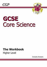 GCSE Core Science Workbook (Including Answers) - Higher by CGP Books (Paperback,