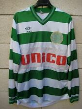 VINTAGE Maillot porté AS SAINT-SEURIN Umbro Unico shirt rare collection ancien