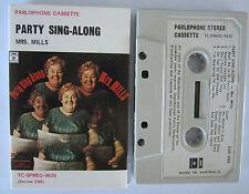 MRS MILLS PARTY SING ALONG AUSTRALIAN RELEASE CASSETTE TAPE