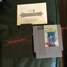 Castlevania 2 simons quest With Manual & Sleeve Nintendo NES tested NES