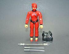 """GI Joe ARAH Jinx 1987 3.75"""" 100% Complete Hasbro Vintage Figure"""