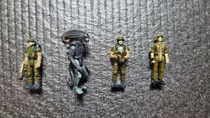 Alien Action Fleet Figures Micro Machines