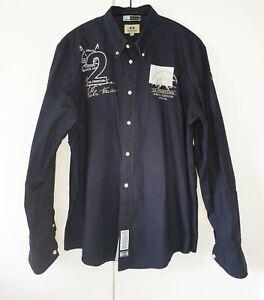 LA MARTINA  Herrenhemd Gr. XXL   100% Cotton / Baumwolle