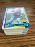 (90) 1990 Topps #60 George Brett Kansas City Royals NM-MT+ Lot