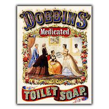 Dobbins Soap Metal Sign Wall Plaque Vintage Bathroom/toilet Advert Art Print