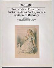 Sotheby's Auction Catalogue - CHILDREN'S BOOKS, JUVENALIA, DRAWINGS 19 June 1986