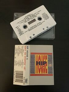 HIP HOUSE 2 - AIN'T NO STOPPIN US (RARE 1990 UK CASSETTE TAPE)