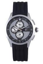 Rudiger Men's R4000-04-007 Zwickau Multi-Function Silver Dial Tachymeter Watch