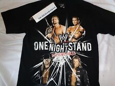 Authentic WWE One Night Stand Extreme Rules Shirt Edge Undertaker 2008 Sz Small