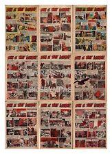 1960  RC BD CHERET : DANS LE TIBET INTERDIT  9 pages (complet)