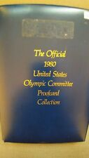 THE OFFICIAL 1980 UNITED STATES OLYMPIC COMMITTEE PROOFCARD COLLECTION