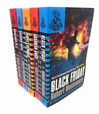 Robert Muchamore CHERUB Series 3 Collection 5 Books Set Black Friday Shadow Wave
