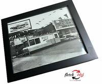 Framed Photograph 50's Orrin B Hayes Oldsmobile / WKZO  Kalamazoo Michigan