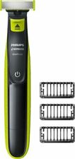 Philips Norelco - OneBlade Wet/Dry Electric Trimmer - Lime Green/Charcoal Gray