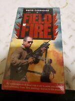 Field of Fire (VHS, 1992) david carradine new sealed HTF rare tape
