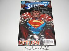 Adventures Of Superman #626 Comic DC 2004 Michael Turner Signed 4X Caldwell HTF
