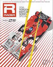 2016 VERIZON INDY CAR SERIES OFFICAL RACER PROGRAM