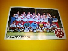 Figurine Panini Fussball 90 n°397-398 ROT-WEISS ESSEN Germany Stickers new