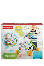NEW Fisher-Price Learn With Me Zebra Walker