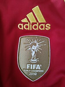 NWT Authentic Adidas 2012 Spain Jersey Large 2010 World Champion