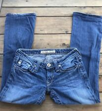 Buckle BIG STAR SWEET BOOT Ultra Low Rise Stretch Bootcut Jeans Sz 26XL