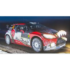 CITROEN DS3 WRC N.14 15th MONTE CARLO 2017 C.BREEN-S.MARTIN 1:43 Spark Model
