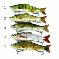 New Minnow Fishing Lures Crank Bait Hooks Bass Crankbaits Tackle Sinking