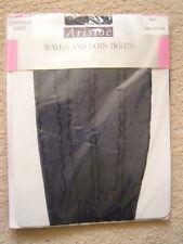 VINTAGE ARISTOC FEELS FANTASTIC TIGHTS VAGUELY BLACK BNIB 1980 SMALL SATIN SHEER
