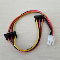 ATX 4p SATA Hard Drive Power Cable for Lenovo IPC Industrial PC Tax Controller