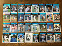 1986 LOS ANGELES DODGERS Topps Complete MLB Team Set 32 Cards HERSHISER GUERRERO