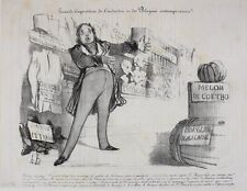 Honore Daumier France 1808-1879 Lithograph Grande Exposition de l'industrie