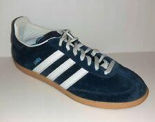 🔥 Adidas Samba 80 Navy Suede Gum Sole Sz 8.5 Shoes Indoor Soccer G07825 👟