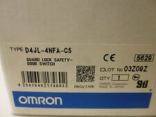 OMRON D4JL-4NFA-C5 GUARD LOCK SAFETY-DOOR SWITCH 24VDC 3A