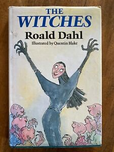 THE WITCHES. 1st Edition. ROALD DAHL. 1983. Hardback