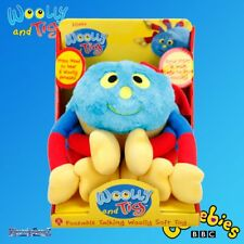 Woolly and Tig cBeebies Poseable Talking Woolly Plush Soft Cuddly Toy Spider New
