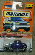 MATCHBOX 2000 - Purple 1933 FORD COUPE - #20 - 1:64 Treasure Hunt RARE!
