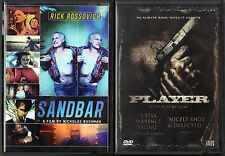 Sandbar (DVD, 2013) & Player (DVD, 2012) - 2 Action & Adventure/Dramas